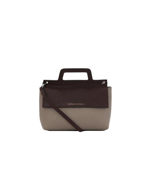 Brunello Cucinelli | Multicolor Leather Crossbody | Lyst