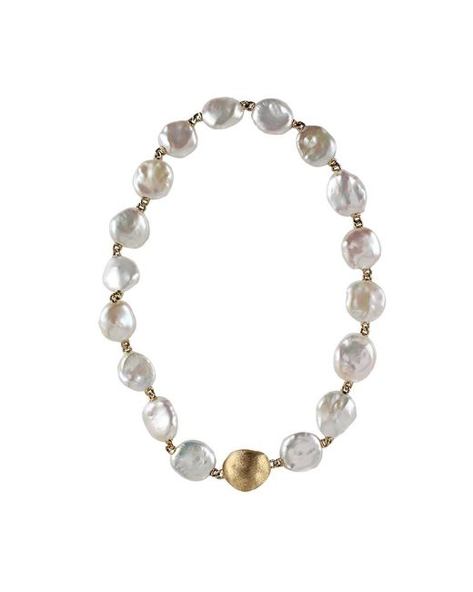 Yvel - Metallic Keshi Pearl Necklace - Lyst
