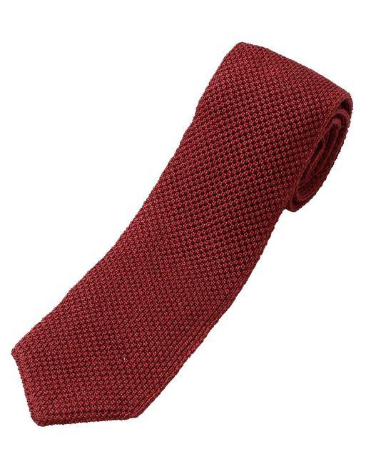 Brunello Cucinelli | Red Knit Tie for Men | Lyst