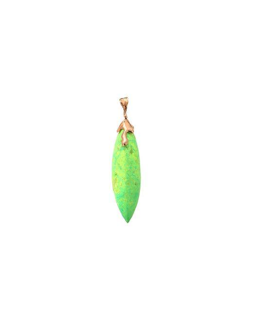 Lucifer Vir Honestus - Green Turquoise Pendant - Lyst