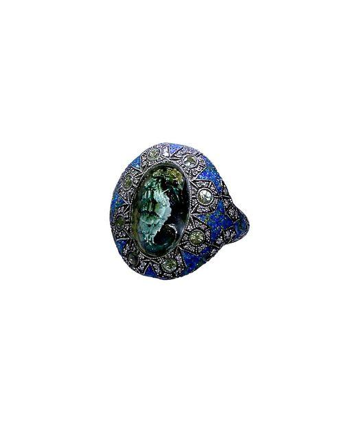 Sevan Biçakci | Blue Carved Seahorse Ring | Lyst