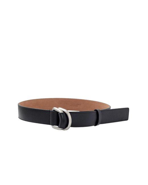 Michael Kors - Black Leather Waist Belt - Lyst