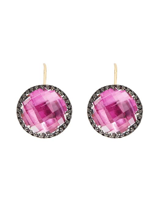Larkspur & Hawk - Metallic Olivia Button Earrings - Lyst