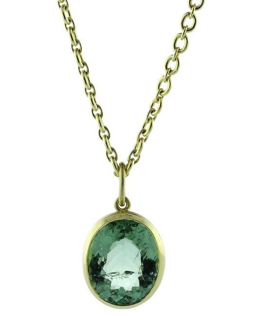 Irene Neuwirth | Green Tourmaline Charm | Lyst