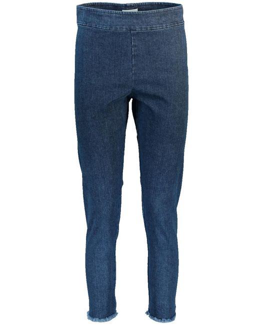 Avenue Montaigne - Blue Skinny Pant for Men - Lyst