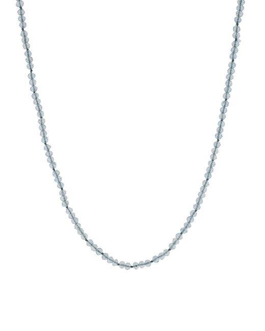 Yossi Harari - Metallic Roxanne Aquamarine Bead Necklace - Lyst