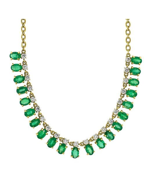 Irene Neuwirth - Green Faceted Emerald Necklace - Lyst
