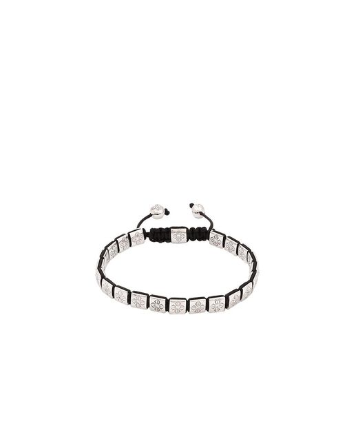 Shamballa Jewels - Metallic Diamond Lock Bracelet - Lyst