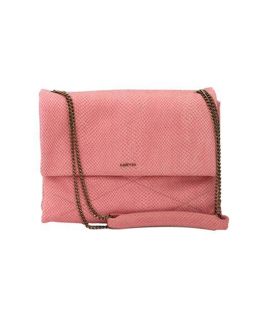 Lanvin - Pink Medium Chain Sugar Bag - Lyst