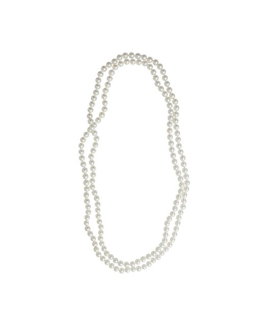 Fantasia Jewelry - White Endless Necklace - Lyst