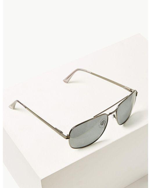 5245ac521f84 Lyst amp; Aviator Marks Sunglasses For In Polarised Spencer Men Metallic  zqwHndvwaZ