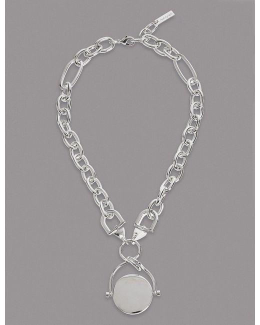 Marks & Spencer   Metallic Spinner Chain Necklace   Lyst
