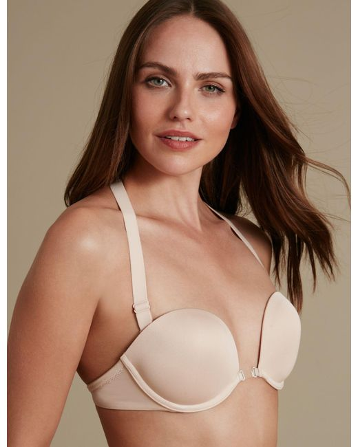 829366a798 ... Marks   Spencer - Multicolor 100 Ways To Wear Multiway Bra A-dd With Low  ...