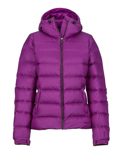 Marmot - Purple Wm's Guides Down Hoody - Lyst