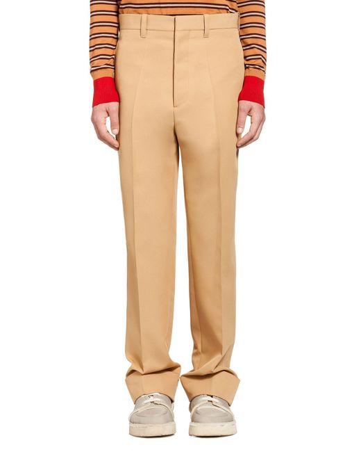 Marni   Natural Pants In Technical Gabardine for Men   Lyst