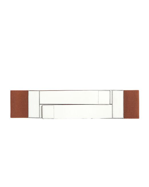 Marni | Multicolor Wide Solid Color Belt | Lyst