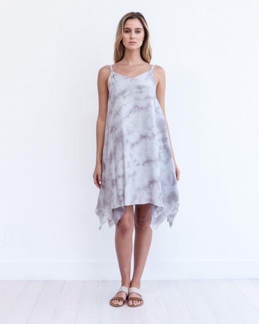 Marrakech | Gray Seychelles Slip Dress | Lyst