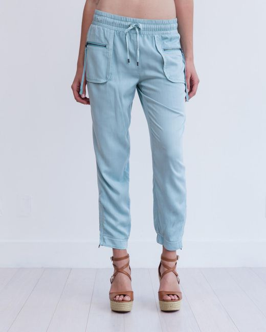 Marrakech | Blue Cabo Cropped Jogger | Lyst