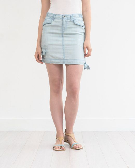 Marrakech - Blue Elin Utility Mini Skirt - Lyst