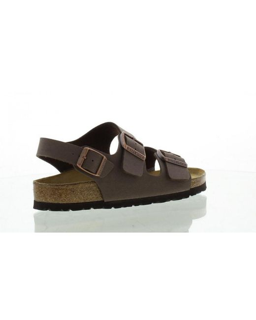 a7babde5c195 ... Birkenstock - Brown Unisex Milano Birko Flor Sandals for Men - Lyst ...