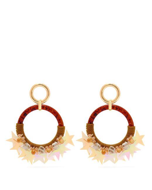 Lizzie Fortunato - Multicolor Starry Night Hoop Earrings - Lyst