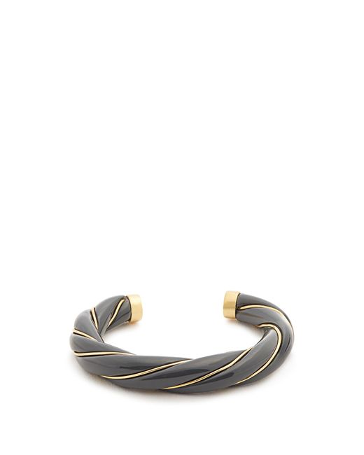 Aurelie Bidermann | Metallic Diana Gold-plated Twisted Cuff | Lyst