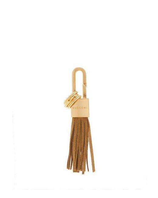 Buscemi Logo-engraved padlock key ring 4umy7ufu