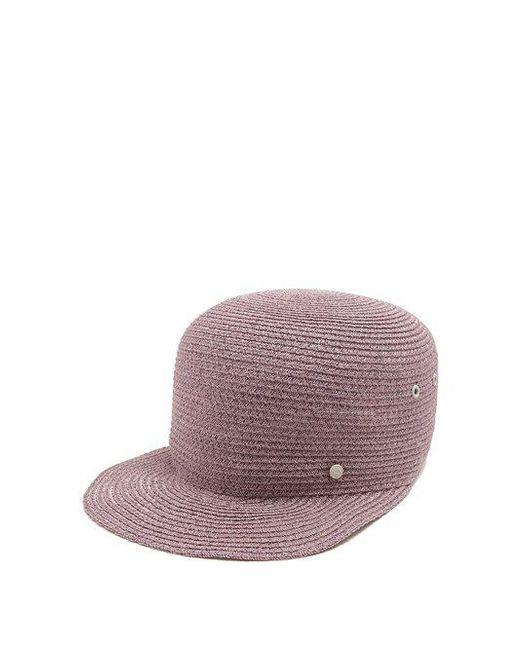 Maison Michel - Purple Shariff Straw Hat - Lyst