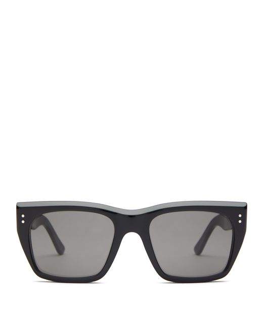62ff473369 Céline - Black Square Frame Acetate Sunglasses - Lyst ...