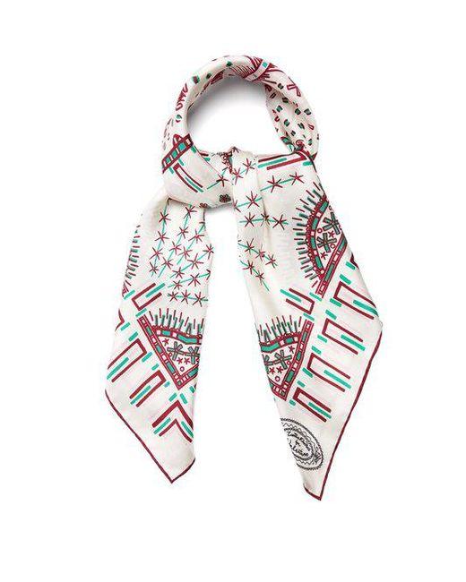 Black Zandra Rhodes graphic print foulard Valentino T260evDq1B