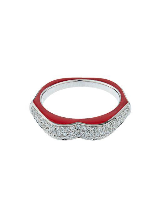 Raphaele Canot | Multicolor Omg! Diamond, Enamel & White-gold Ring | Lyst