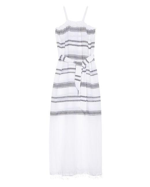 Lemlem | Blue Addis Multi-stripe Cover-up | Lyst