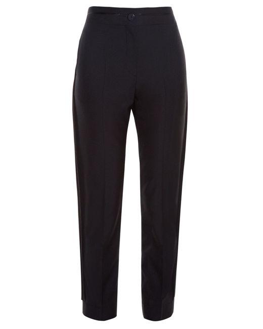 Balenciaga | Black Side-seam Tuxedo Trousers | Lyst