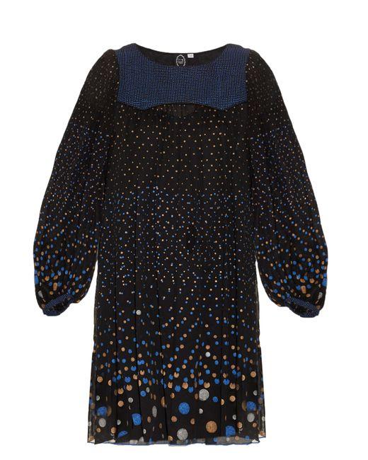Thierry Colson | Blue Poppy Polka-dot Print Dress | Lyst