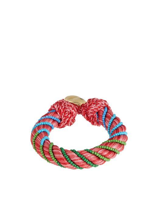 Aurelie Bidermann | Pink Maya Bead-embellished Bracelet | Lyst