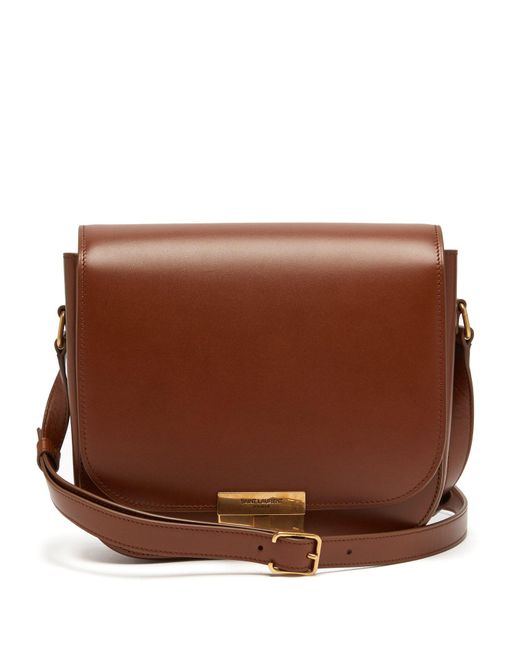 Saint Laurent - Brown Betty Leather Satchel - Lyst