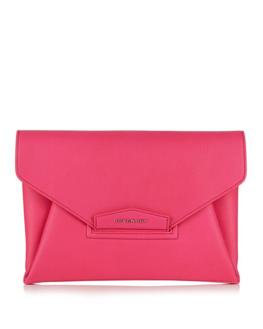 Givenchy | Multicolor Antigona Envelope Grained-leather Clutch | Lyst