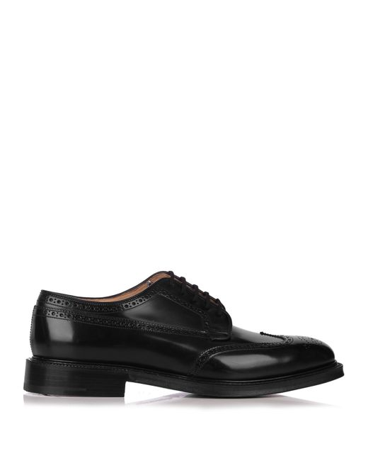 Church's | Black Berlin Leather Brogue Oxford Shoes for Men | Lyst