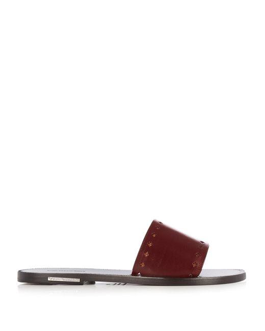 Isabel Marant | Multicolor Étoile Jiany Leather Slides | Lyst