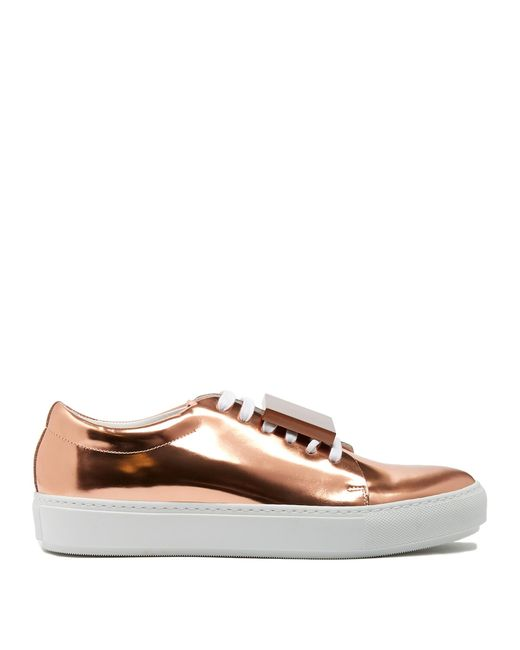 Acne | Multicolor Adriana Leather Sneakers | Lyst