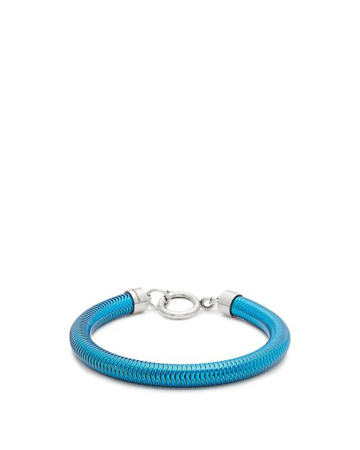 Isabel Marant | Blue Lacquered-brass Bracelet | Lyst
