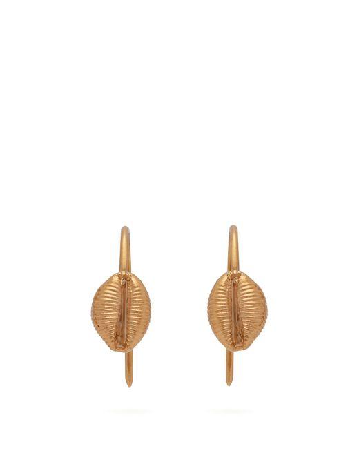 Isabel Marant - Metallic Shell Earrings - Lyst
