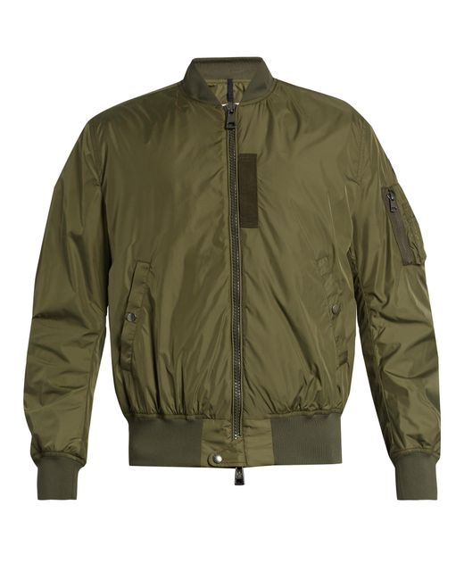 Moncler | Green Timothe Shell Bomber Jacket for Men | Lyst