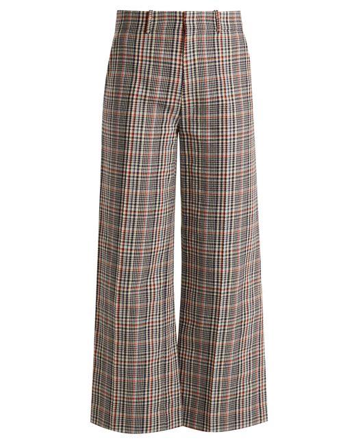Joseph | Multicolor Ferrandi Prince Of Wales-checked Trousers | Lyst