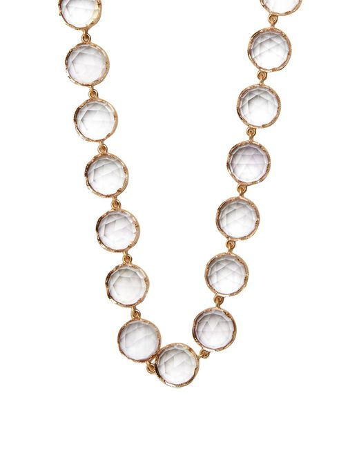 Irene Neuwirth | Metallic Rose De France Amethyst & Rose-gold Necklace | Lyst