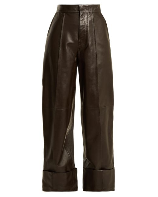 Joseph | Multicolor High-rise Leather Trousers | Lyst