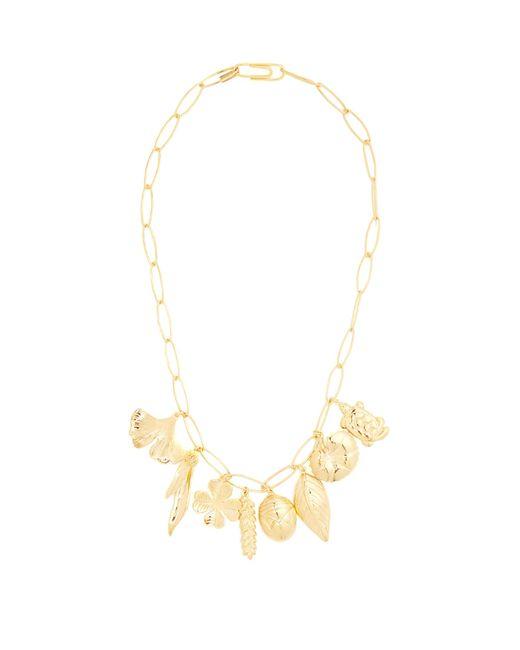 Aurelie Bidermann | Metallic Aurélie Gold-plated Necklace | Lyst