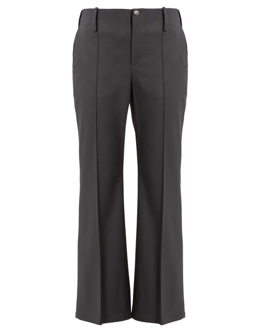 Balenciaga | Multicolor Kick-flare Stretch-wool Trousers | Lyst