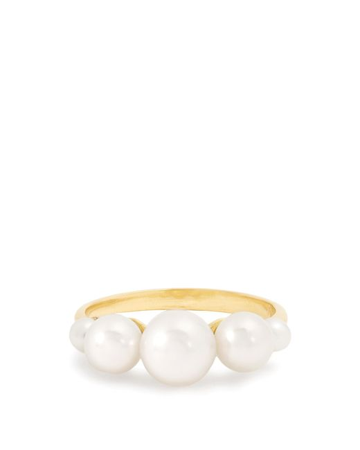 Irene Neuwirth | Multicolor Pearl & Yellow-gold Ring | Lyst