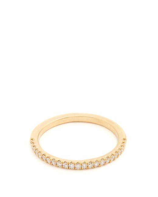 Marc Alary - Metallic Diamond & Yellow Gold Ring - Lyst